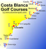 %name Costa Blanca Golf Courses