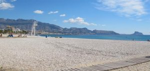Albir beach 300x142 Top 10 beautiful beaches in Alicante