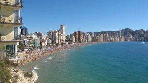 Benidorm 300x168 Top 10 beautiful beaches in Alicante