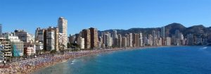 Jog alongside Benidorm's magnificent beaches 300x105 Five best running routes in Alicante with the best views