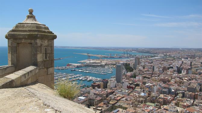 Alicante castle Top 10 Alicante icons