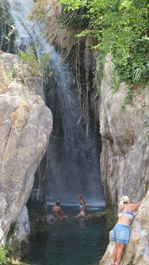 warned Visit Alicante's most beautiful waterfall