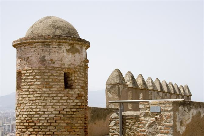 Gibralfaro 10 Majestic Spanish Castles