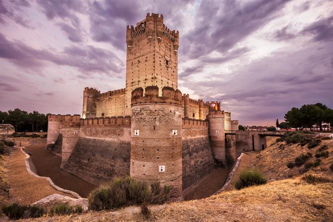 Mota 10 Majestic Spanish Castles