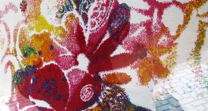 carpets. Weaving magical carpets in Crevillente, Alicante