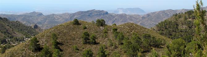 Quatretondeta Six favourite mountains in Alicante