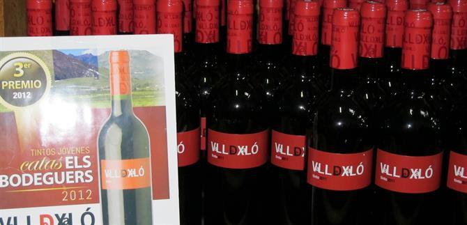 Jalon Wine tours around Alicante